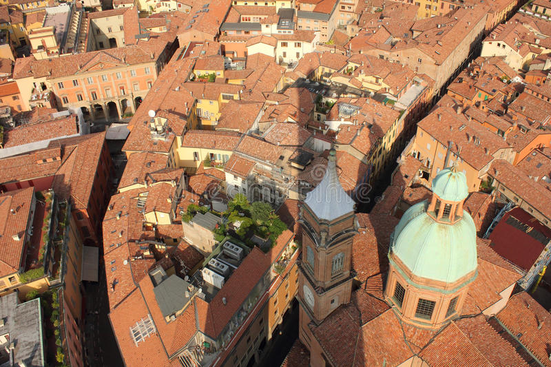Download Bologna With Asinelli Tower's Shadow, Italy Stock Photography - Image: 26841112