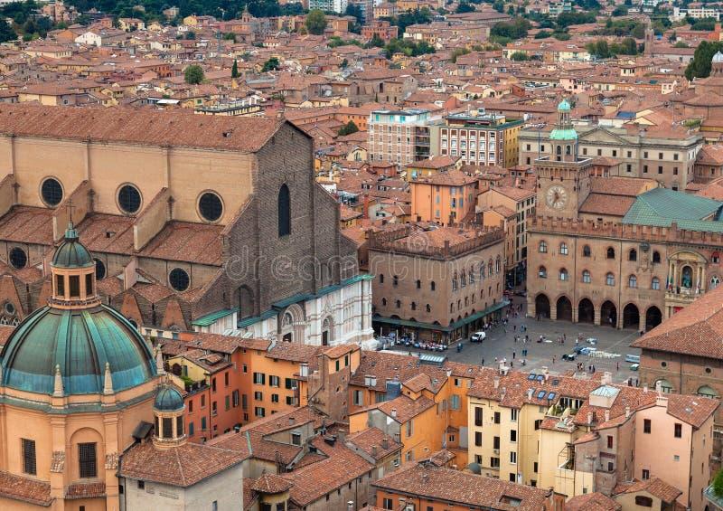 Bologna, Emilia-Roemenië, Italië stock foto
