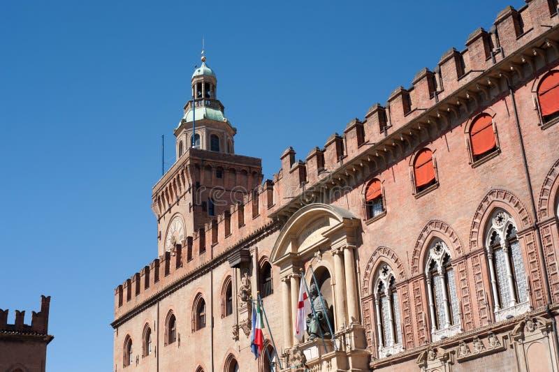 Bologna Italia di accursio della costruzione immagine stock libera da diritti