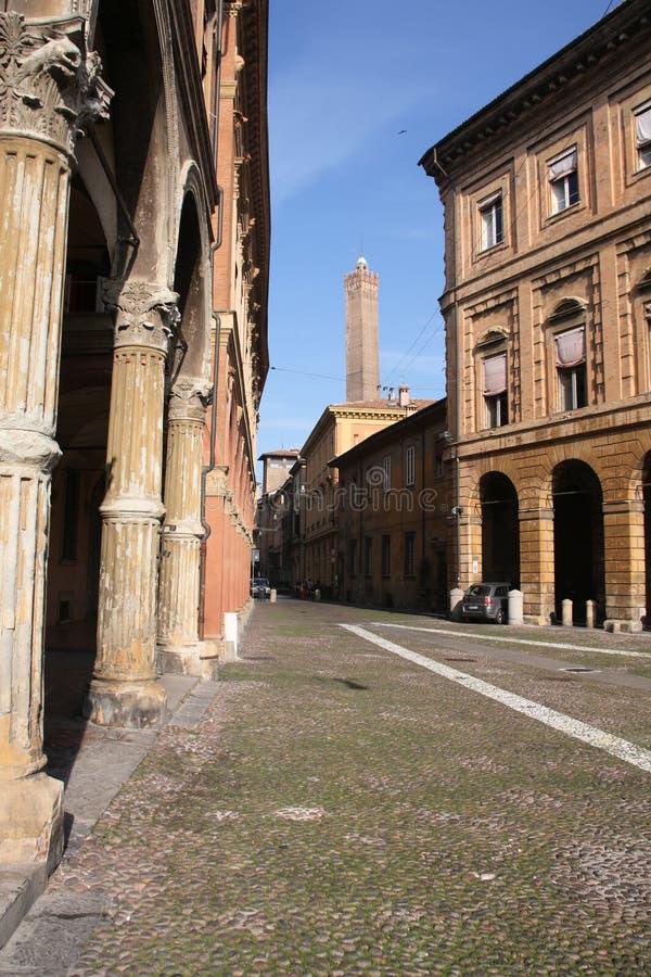 bologna italy royaltyfria bilder
