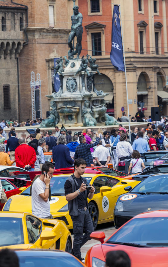 Download Bologna, Lamborghini Anniversary 50th Editorial Photo - Image: 31016021