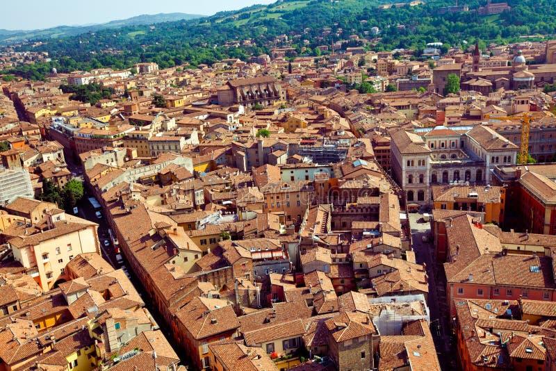 Bologna miasta widok obrazy stock