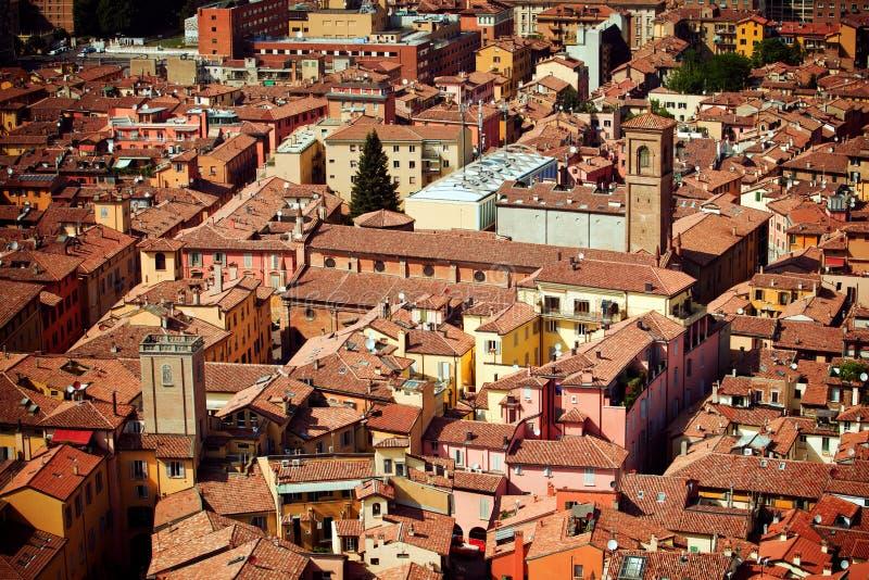 Bologna miasta widok fotografia royalty free