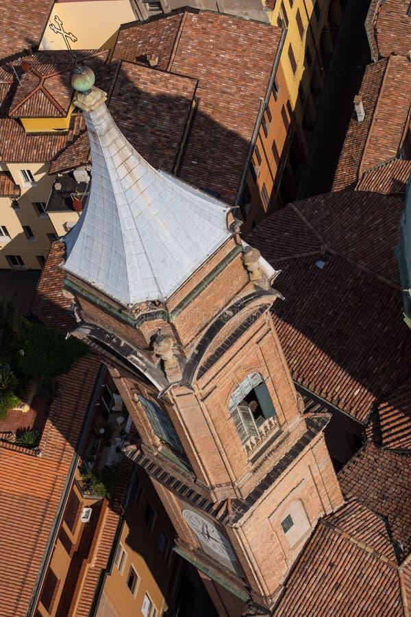 Bologna Od Above obrazy stock