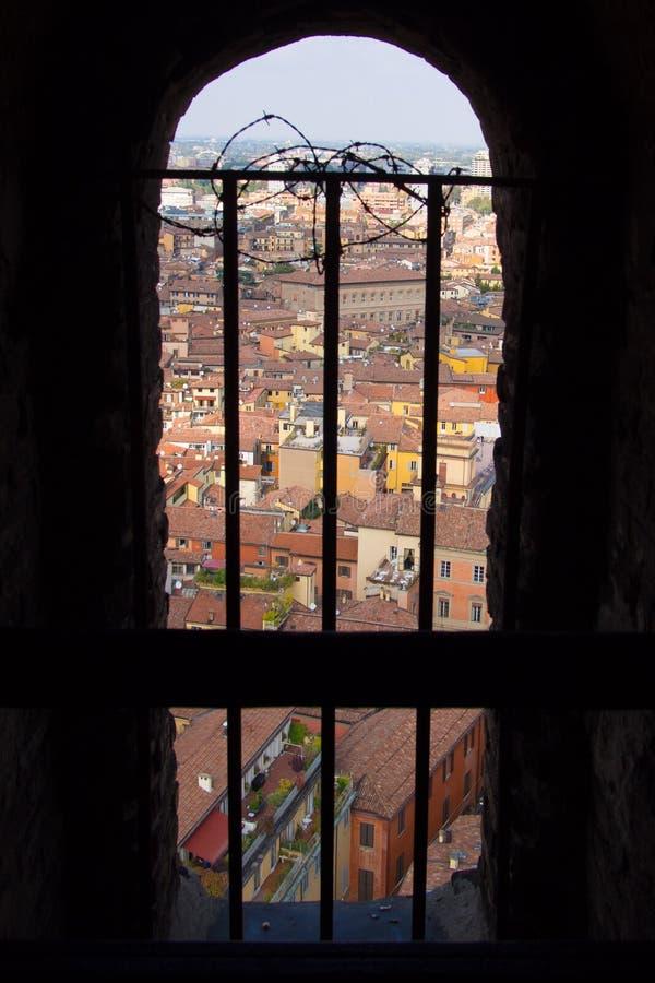 Bologna Od Above zdjęcie royalty free