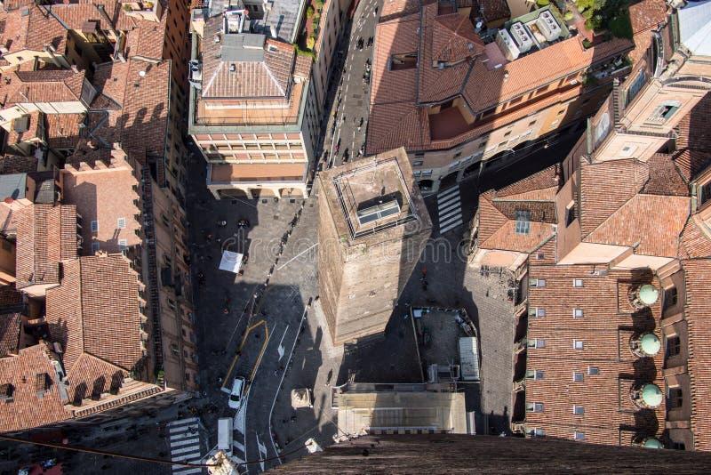 Bologna Od Above obraz stock