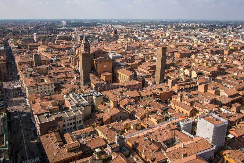 Bologna Od Above zdjęcia stock