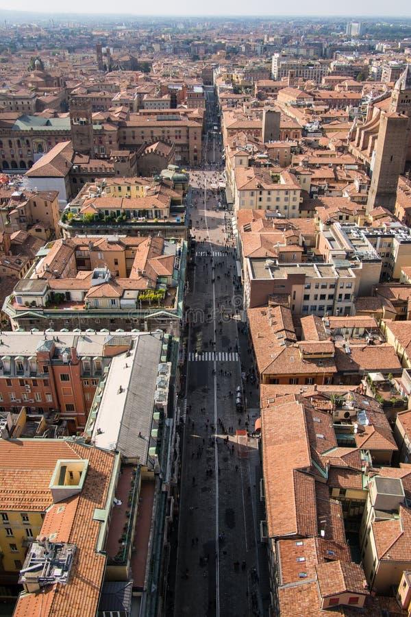 Bologna Od Above zdjęcie stock