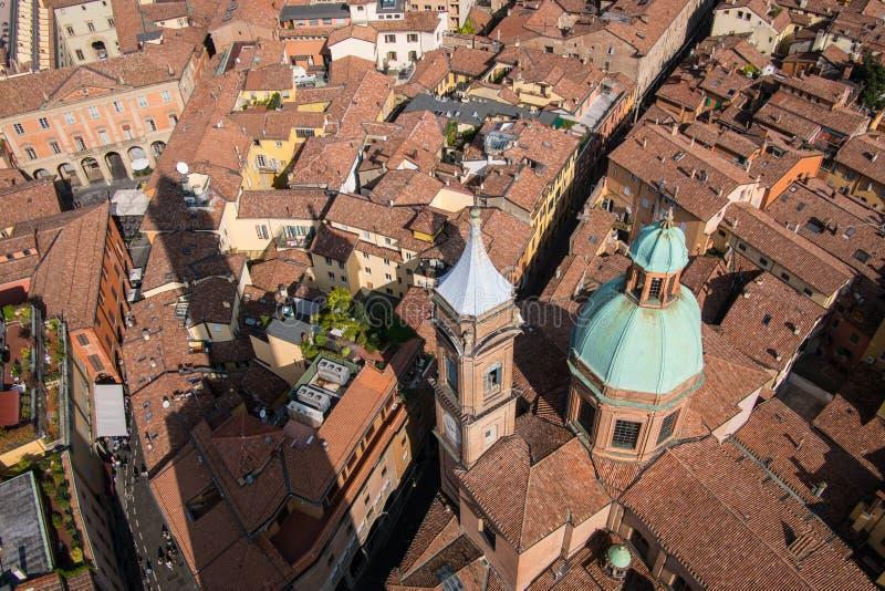 Bologna Od Above obrazy royalty free