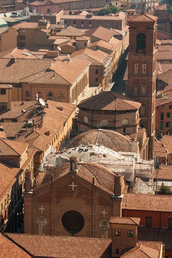 Bologna Od Above zdjęcia royalty free