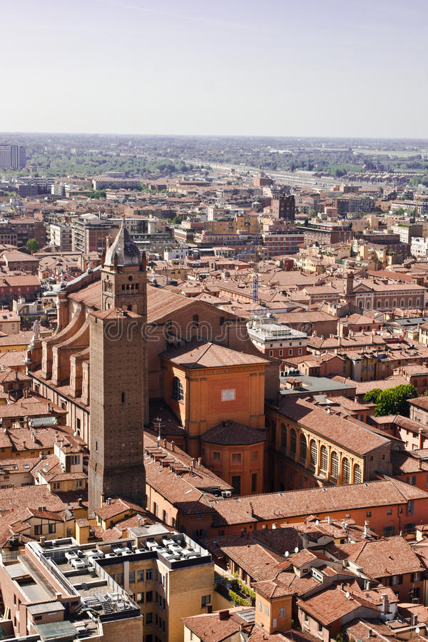 Download Bologna Rooftops Royalty Free Stock Photos - Image: 24803418