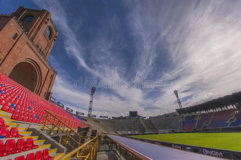 Bologna-Stadion lizenzfreie stockfotografie