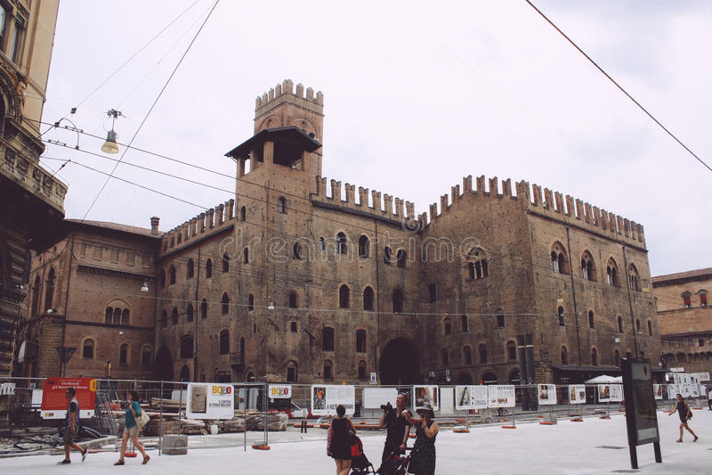 Bologna, Włochy obraz stock