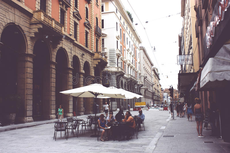 Bologna, Włochy fotografia royalty free