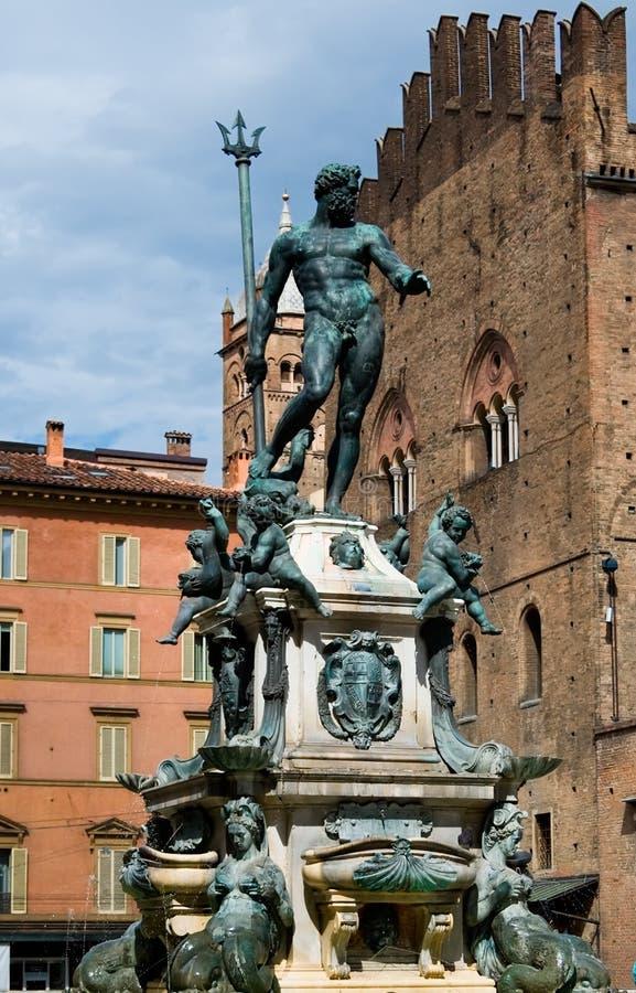 Bolognabrunnen lizenzfreie stockfotografie