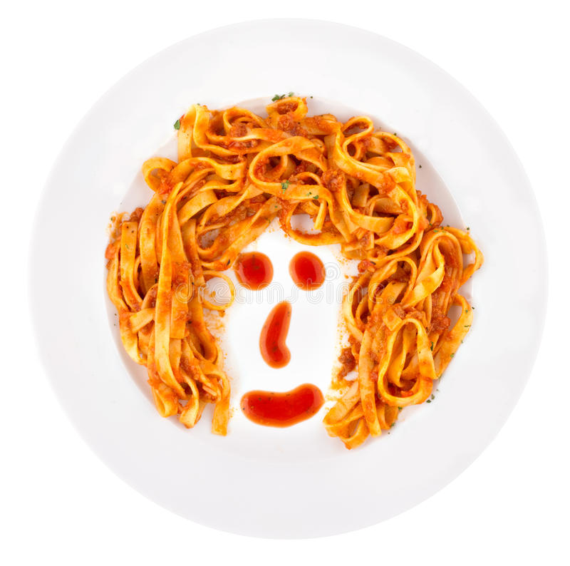 Bolognaise Face royalty free stock photography