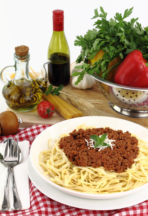 Download Bolognese stock image. Image of healthy, italy, plate - 20163267