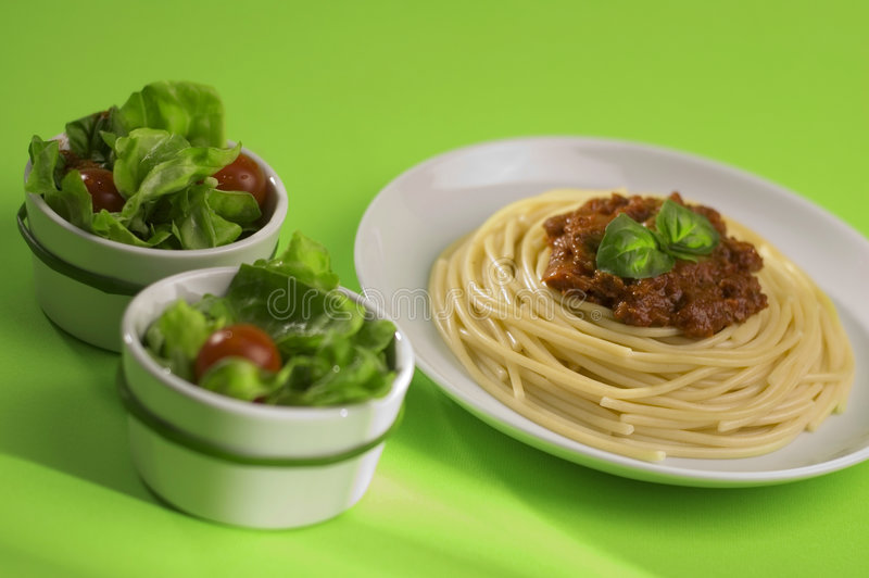 bolognese italy spagetti arkivfoton
