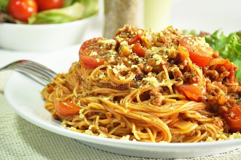Bolognese Spaghetti stock fotografie