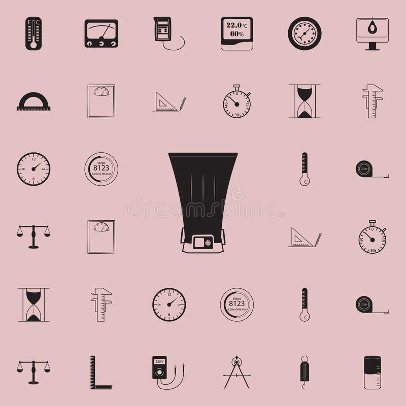 Bolometer icon. Detailed set of Measuring Elements icons. Premium quality graphic design sign. One of the collection icons for web. Sites, web design, mobile app stock illustration