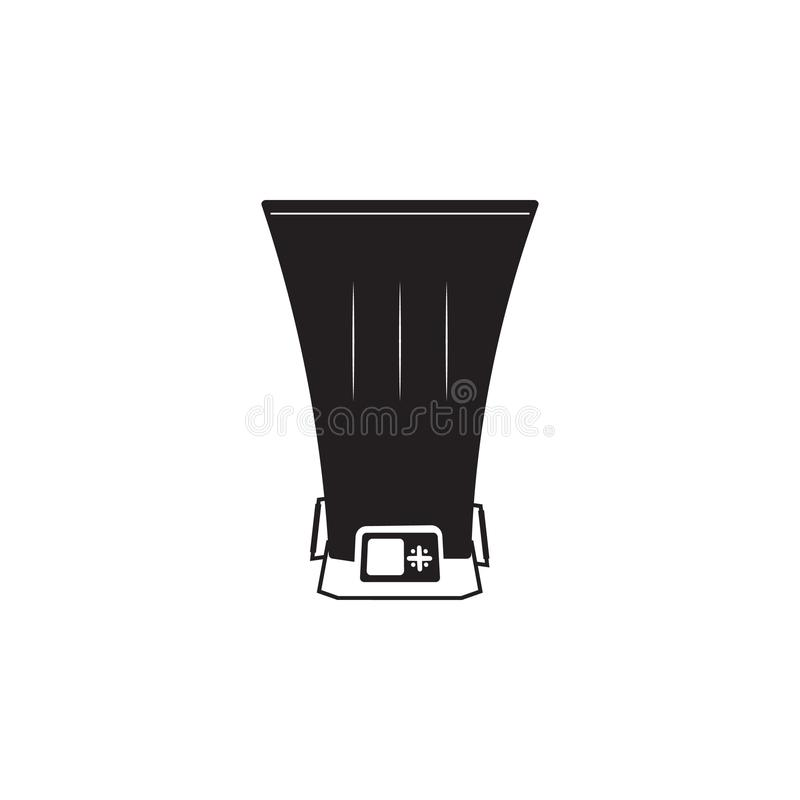 Bolometer icon. Element of Measuring items for mobile concept and web apps. Icon for website design and development, app developme. Nt. Premium icon on white vector illustration