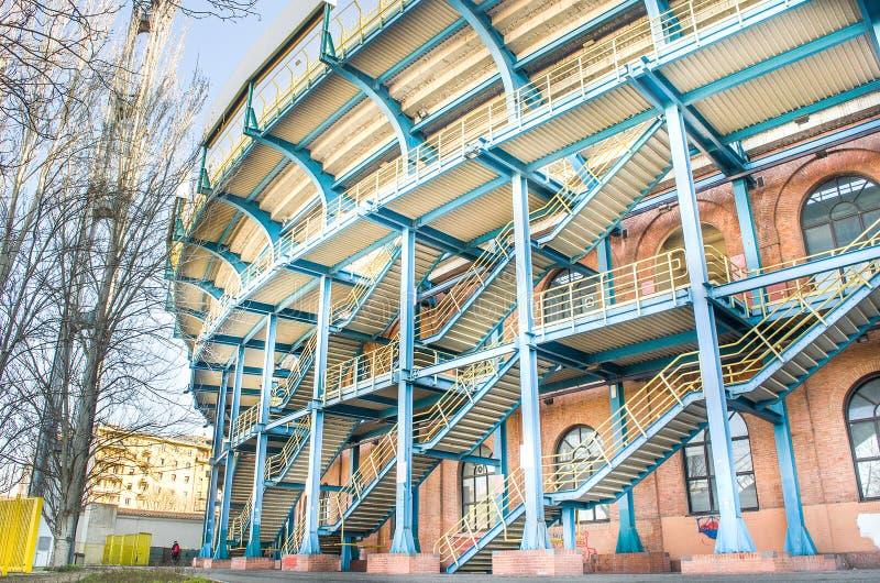 Bolonha, Itália - 7 de março de 2015: Renato Dall Ara Stadium foto de stock royalty free