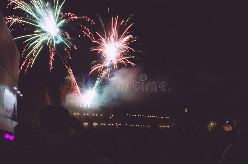 Bolonia, día del ` s de San Petronio, Italia foto de archivo libre de regalías