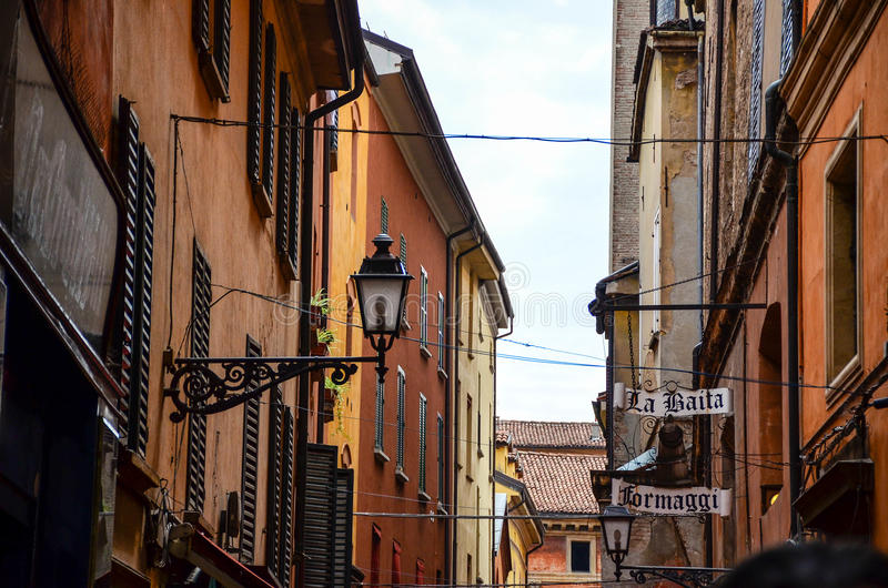 Bolonia Italia imagenes de archivo