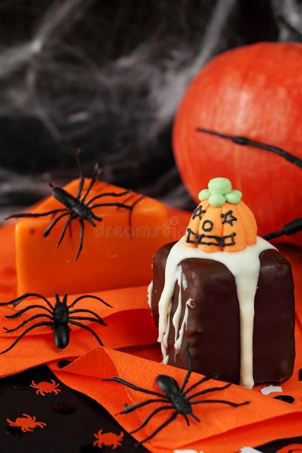 Bolos de Halloween fotos de stock