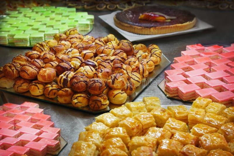 Bolos e pastelarias foto de stock royalty free