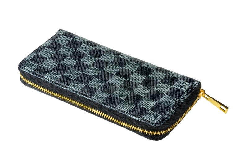 Bolsa Checkered foto de stock royalty free