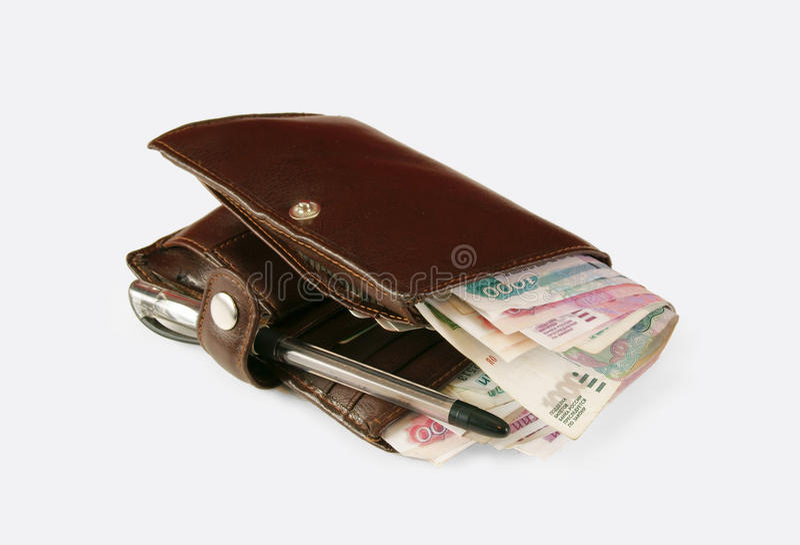Download Bolsa com dinheiro foto de stock. Imagem de riches, grande - 16863744