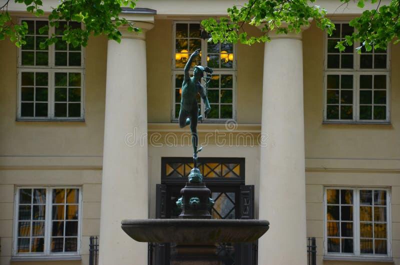 Bolsa de acción de Oslo imagen de archivo libre de regalías