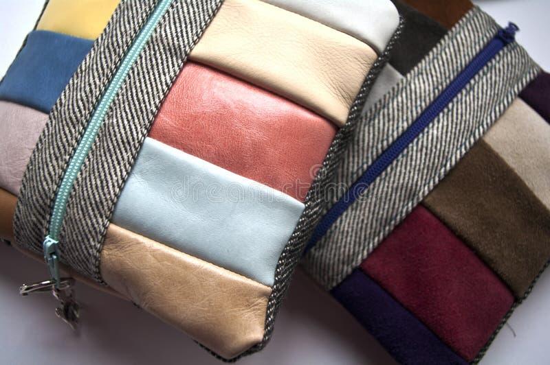 Bolsa de couro pequena feito a mão fotos de stock royalty free