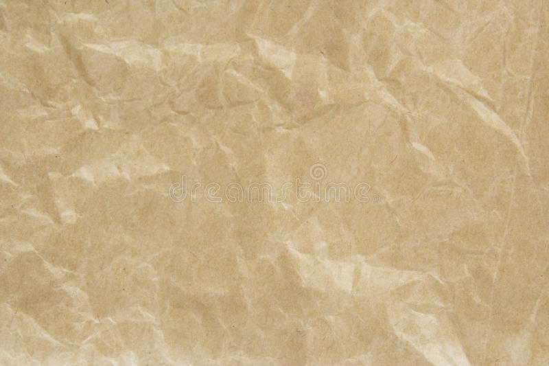 Bolsa de papel de Brown imagen de archivo libre de regalías