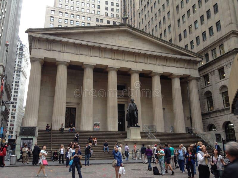 A bolsa de valores - New York fotografia de stock