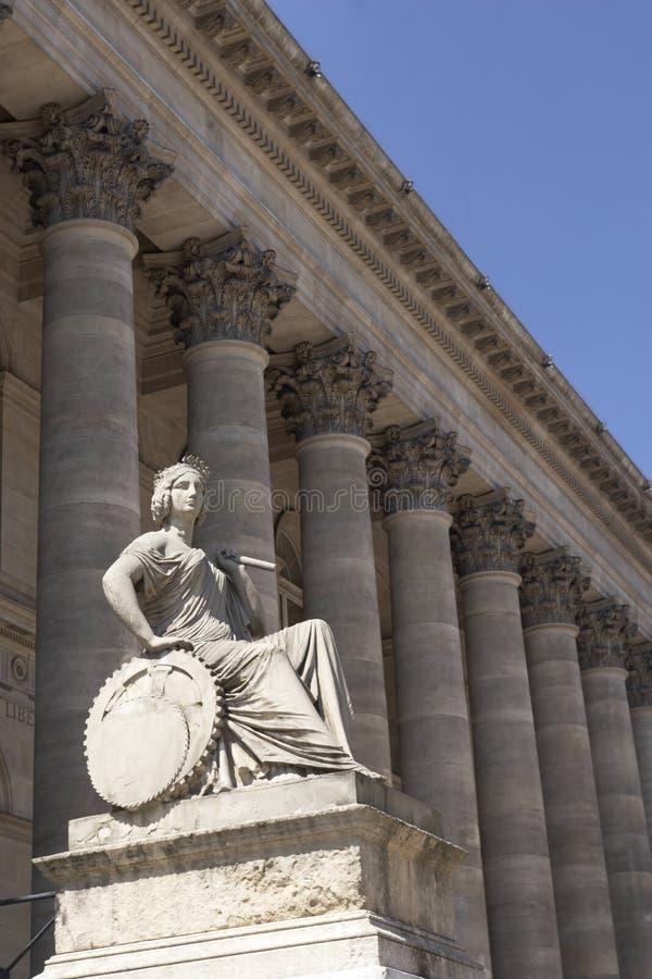 Bolsa del La, bolsa de París imágenes de archivo libres de regalías