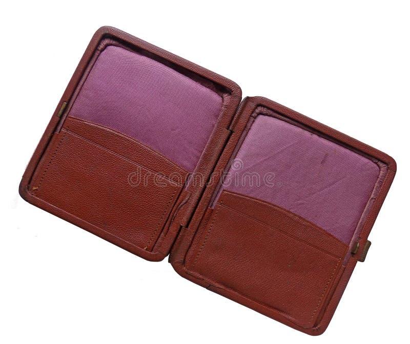 Bolsa exterior do vintage imagem de stock royalty free