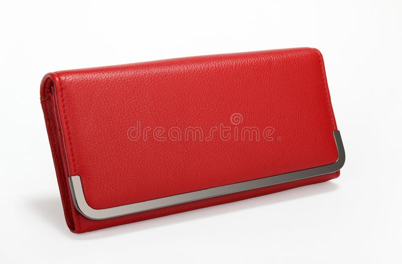 Bolsa vermelha imagens de stock royalty free