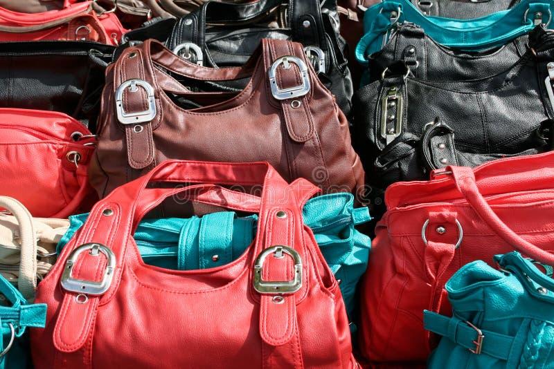 Bolsas plásticas foto de stock royalty free