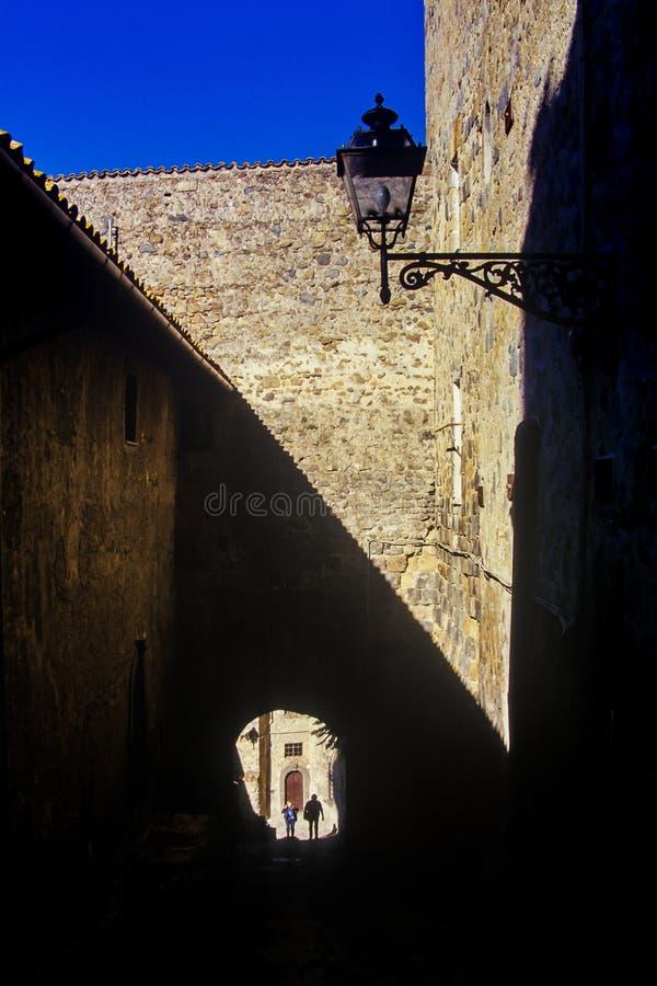 Bolsena, lazio, italy. Lake of Bolsena Italy - The medieval town with castle on Lake Bolsena, region Lazio, central Italy stock photography