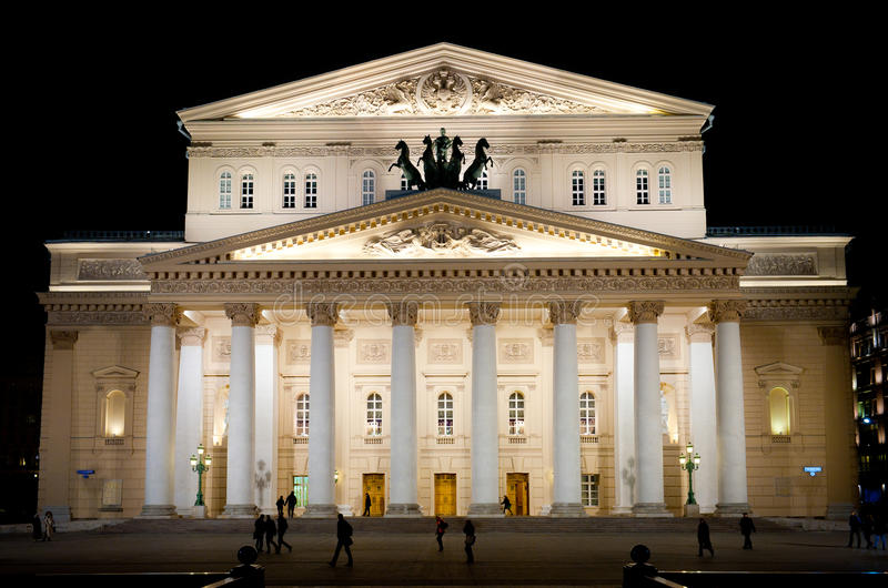 Bolshoi Theater stockbilder