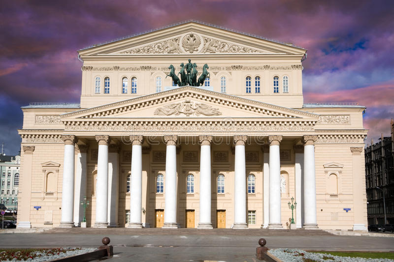 Download The Bolshoi Theater, Moscow Royalty Free Stock Photos - Image: 27373888