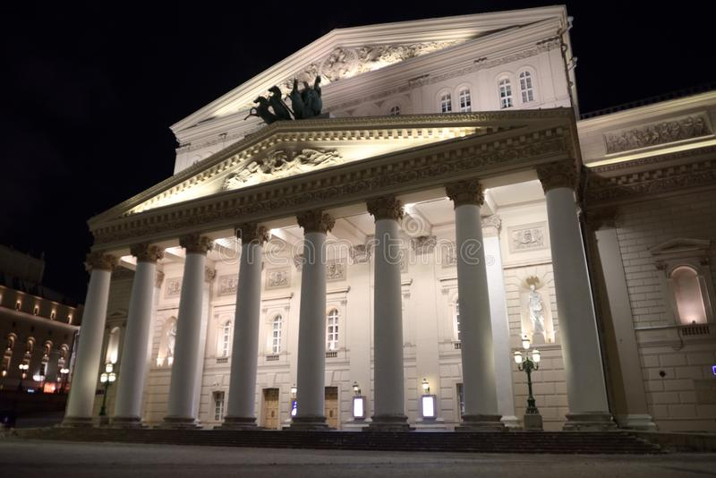 Bolshoi Theatre royaltyfri fotografi