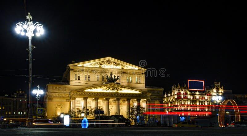 Bolshoy teater fotografering för bildbyråer