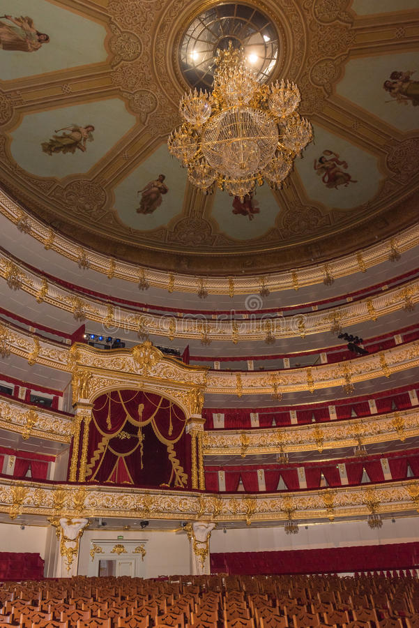 Bolshoy-Theater stockfotografie
