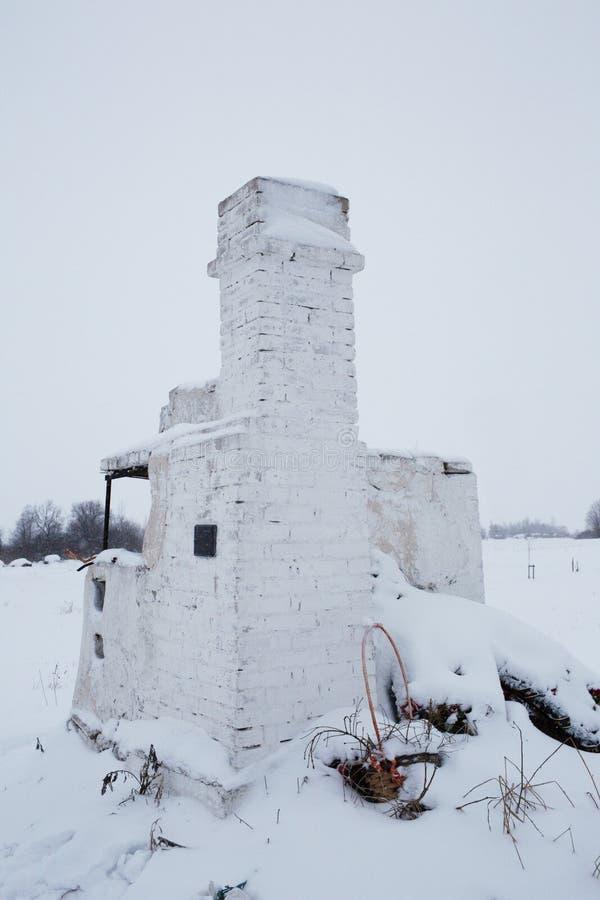 Bolshoye Zarechye,列宁格勒地区疆土的,俄罗斯村庄, 库存图片