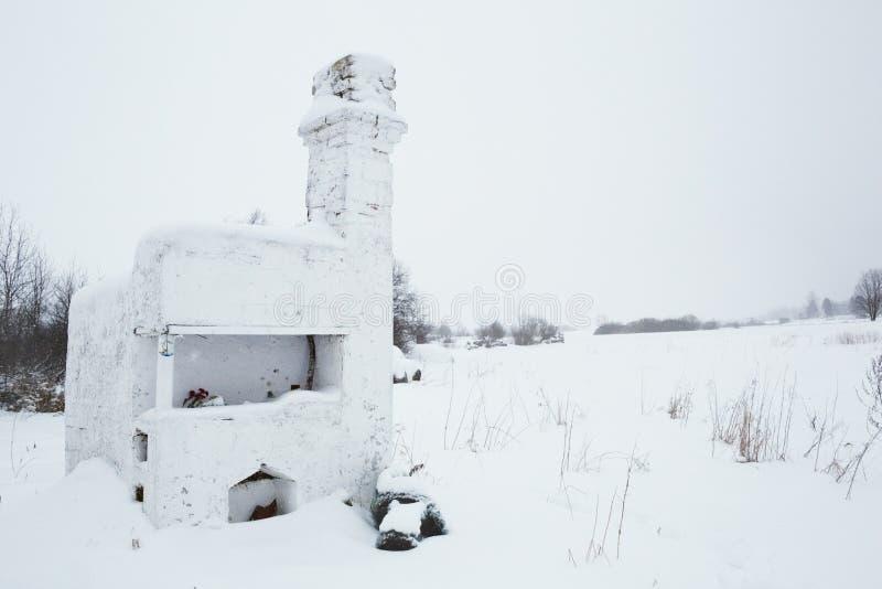 Bolshoye Zarechye, village sur le territoire de la région de Léningrad, Russie, photographie stock libre de droits