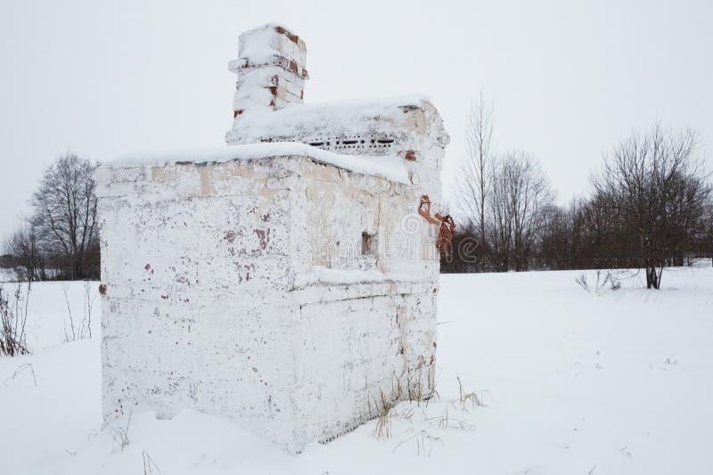 Bolshoye Zarechye, village sur le territoire de la région de Léningrad, Russie, images libres de droits
