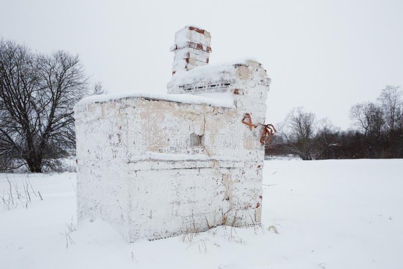 Bolshoye Zarechye, village sur le territoire de la région de Léningrad, Russie, photos libres de droits